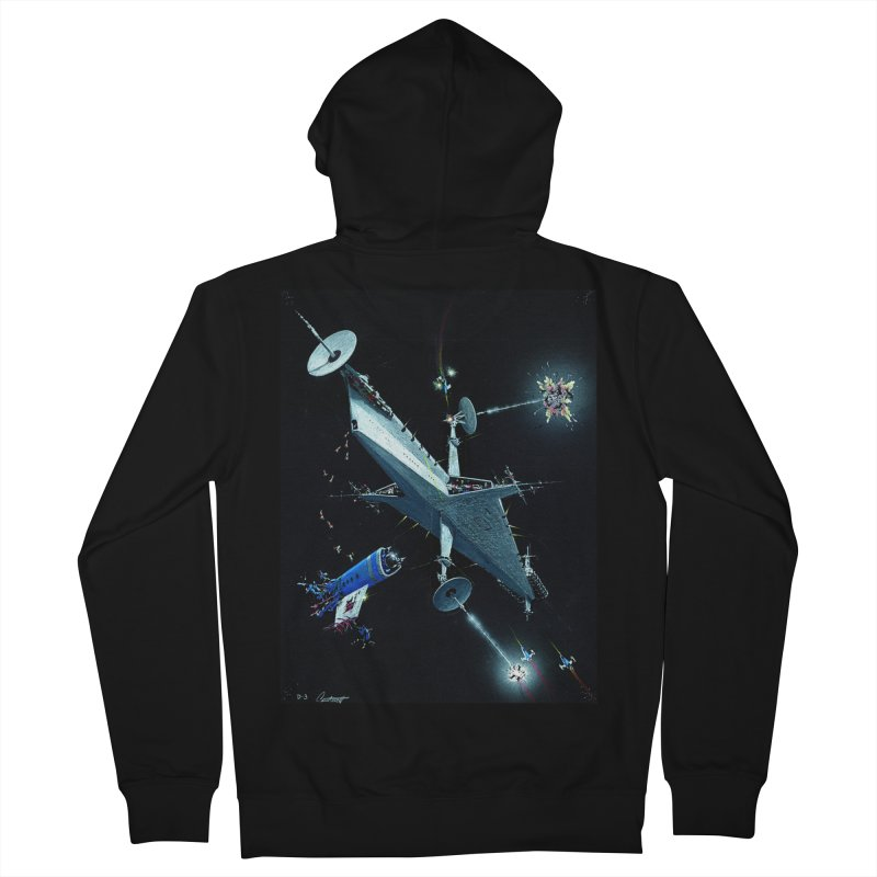 Concept 3 Men's Zip-Up Hoody by Colin Cantwell