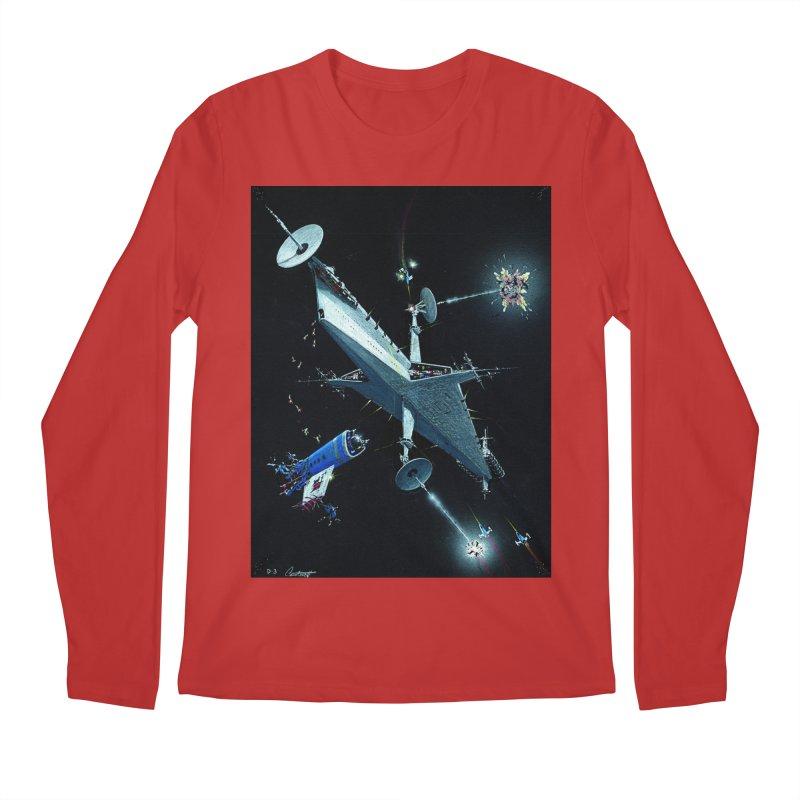 Concept 3 Men's Regular Longsleeve T-Shirt by Colin Cantwell