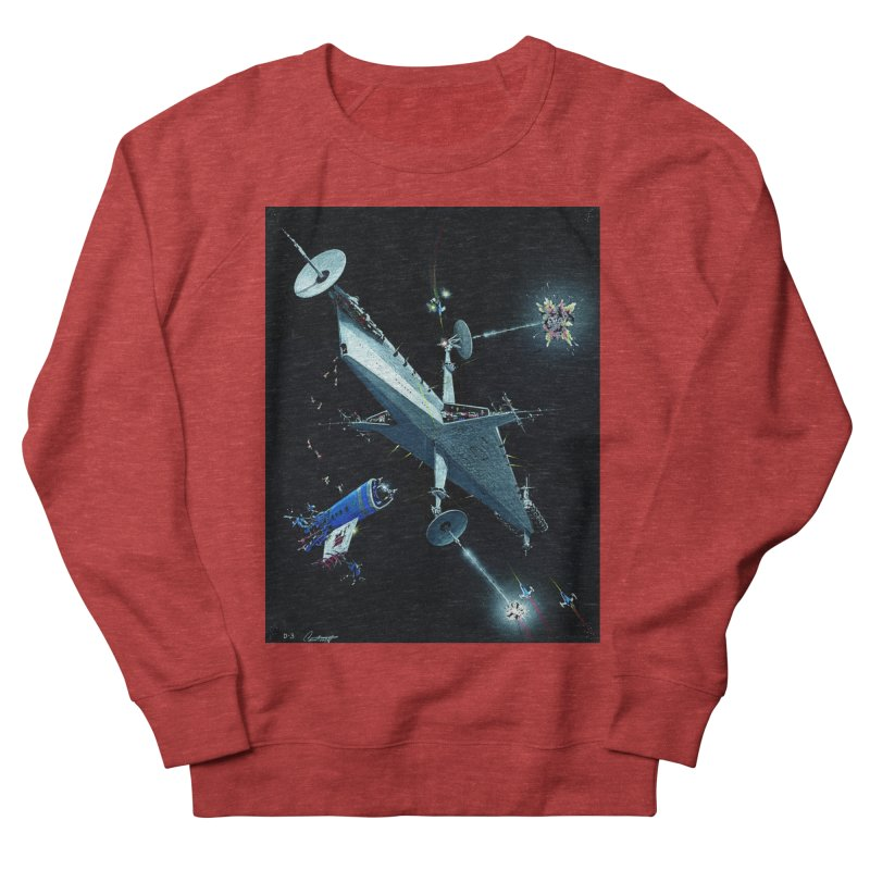 Concept 3 Women's French Terry Sweatshirt by Colin Cantwell