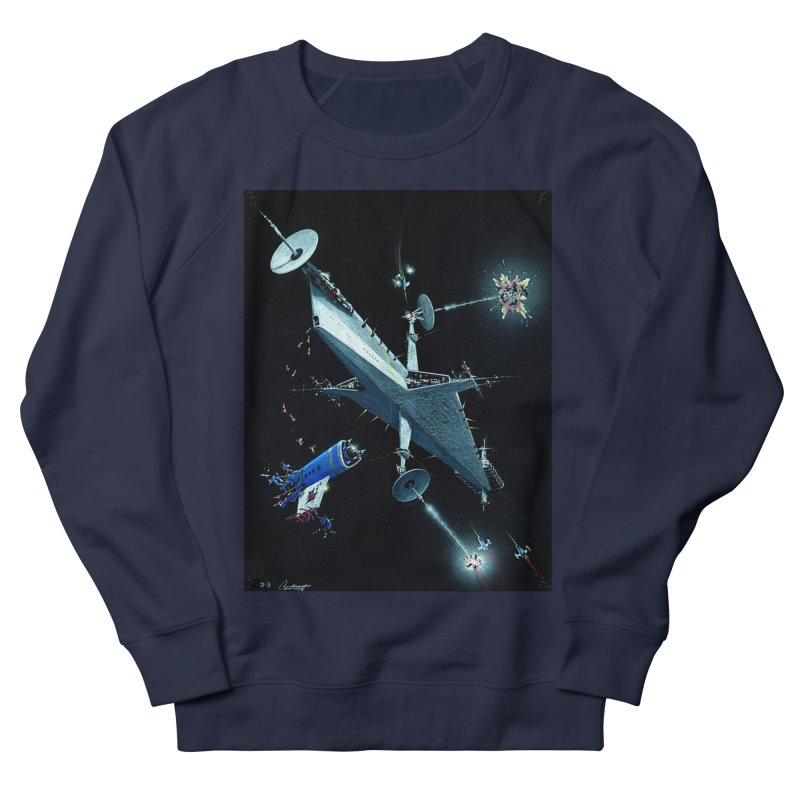 Concept 3 Men's French Terry Sweatshirt by Colin Cantwell