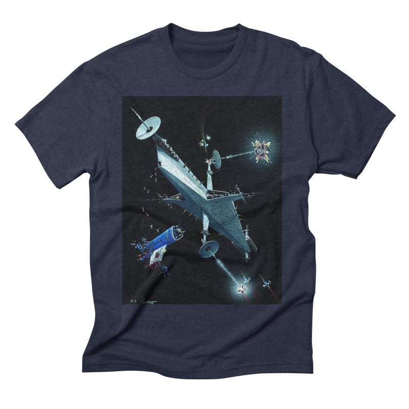 Concept 3 Men's Triblend T-Shirt by Colin Cantwell