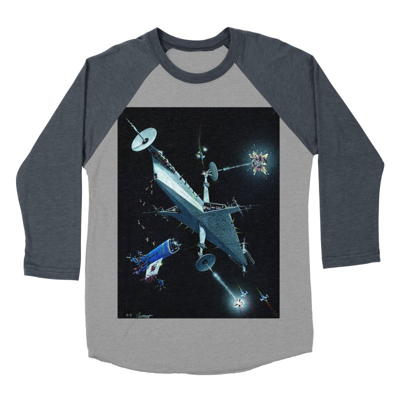 Concept 3 Men's Baseball Triblend T-Shirt by Colin Cantwell