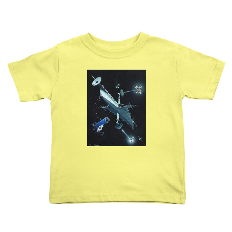 Concept 3 Kids Toddler T-Shirt by Colin Cantwell