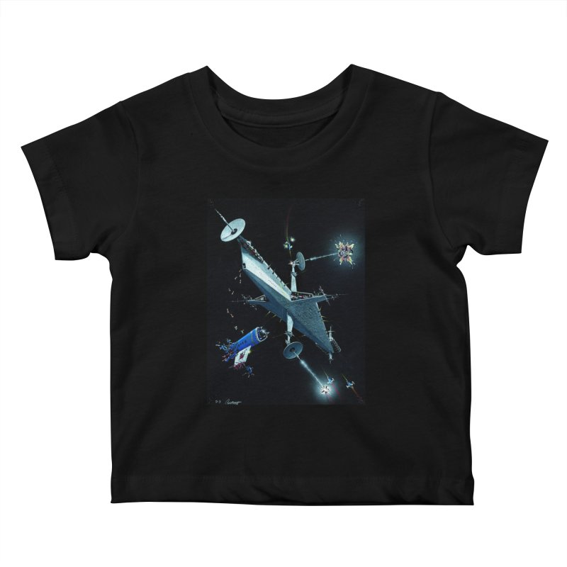 Concept 3 Kids Baby T-Shirt by Colin Cantwell