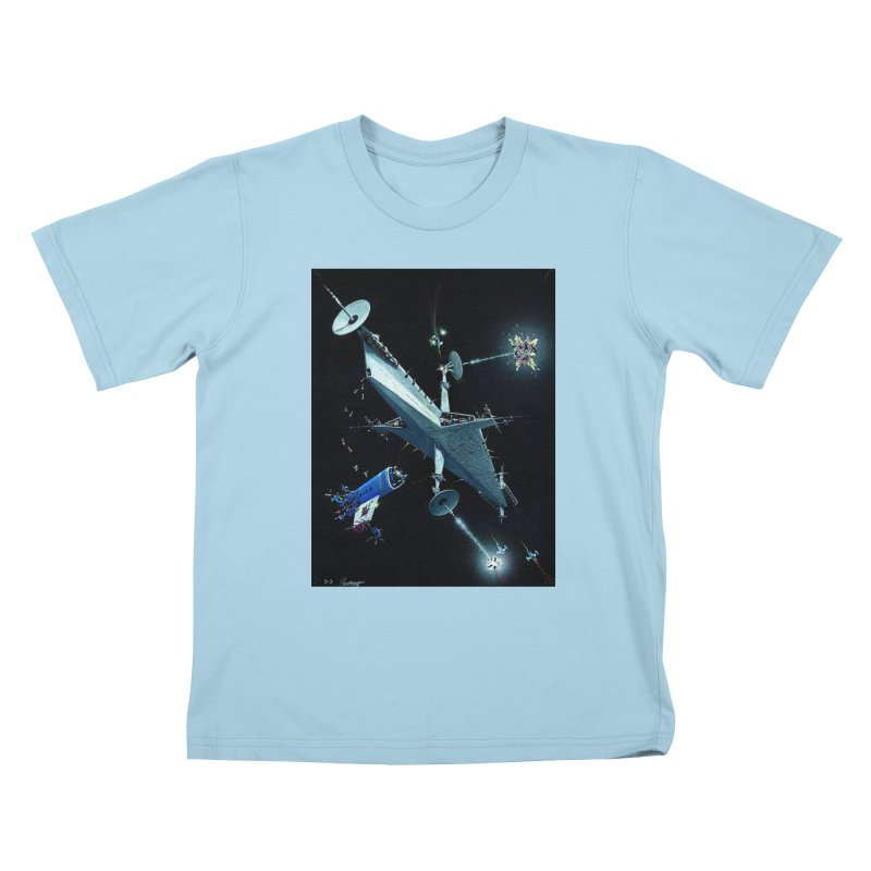 Concept 3 Kids T-Shirt by Colin Cantwell