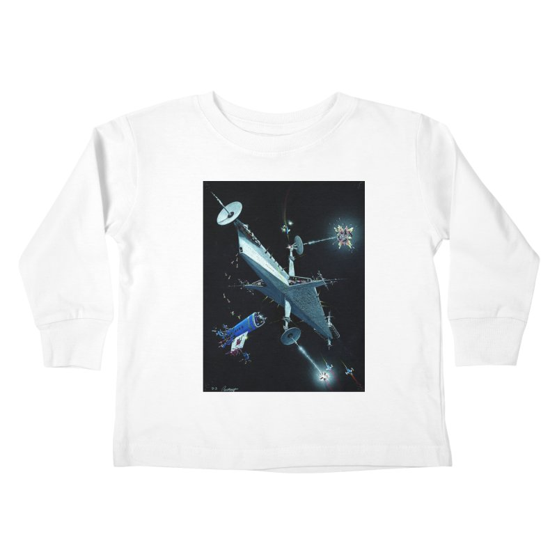 Concept 3 Kids Toddler Longsleeve T-Shirt by Colin Cantwell
