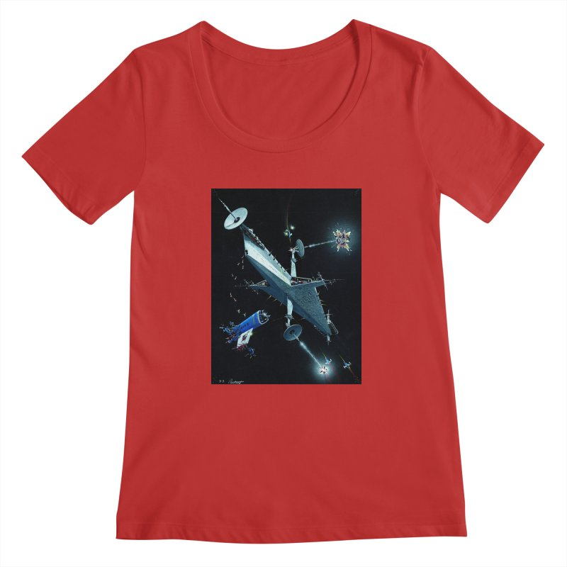 Concept 3 Women's Regular Scoop Neck by Colin Cantwell