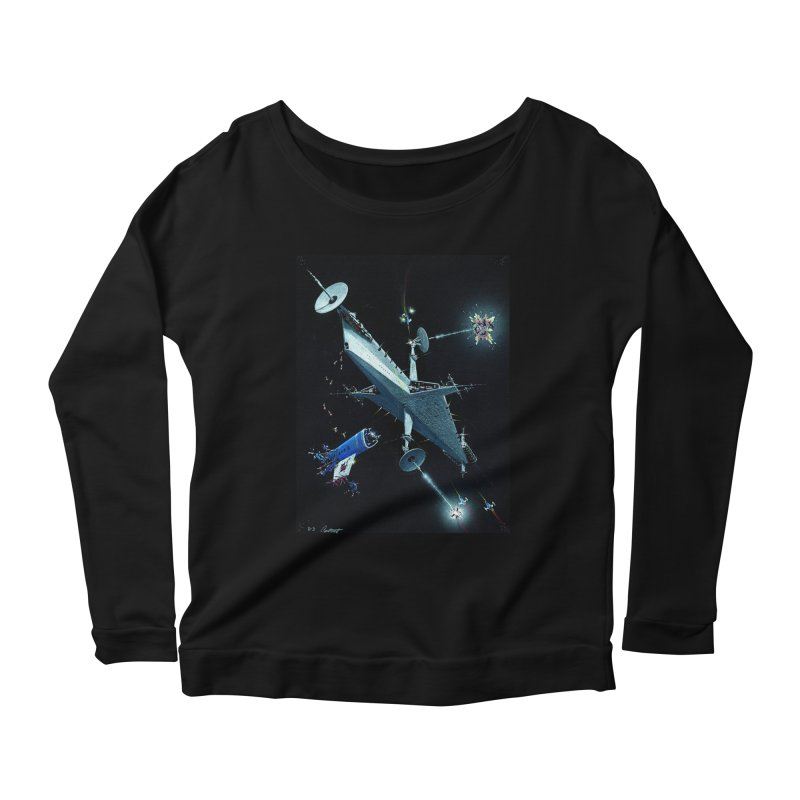 Concept 3 Women's Longsleeve Scoopneck  by Colin Cantwell