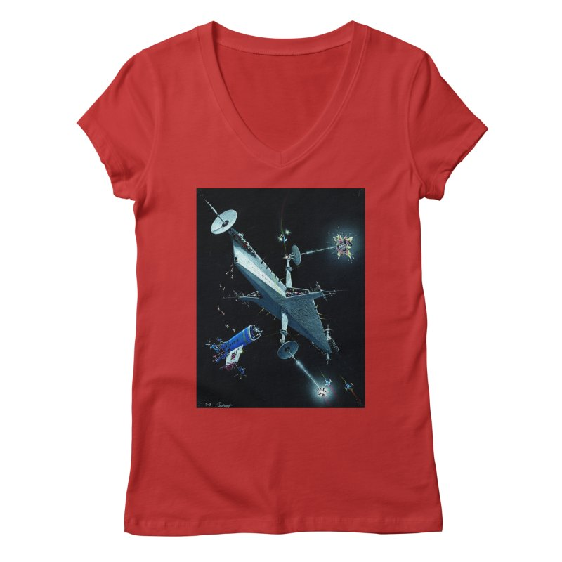 Concept 3 Women's Regular V-Neck by Colin Cantwell
