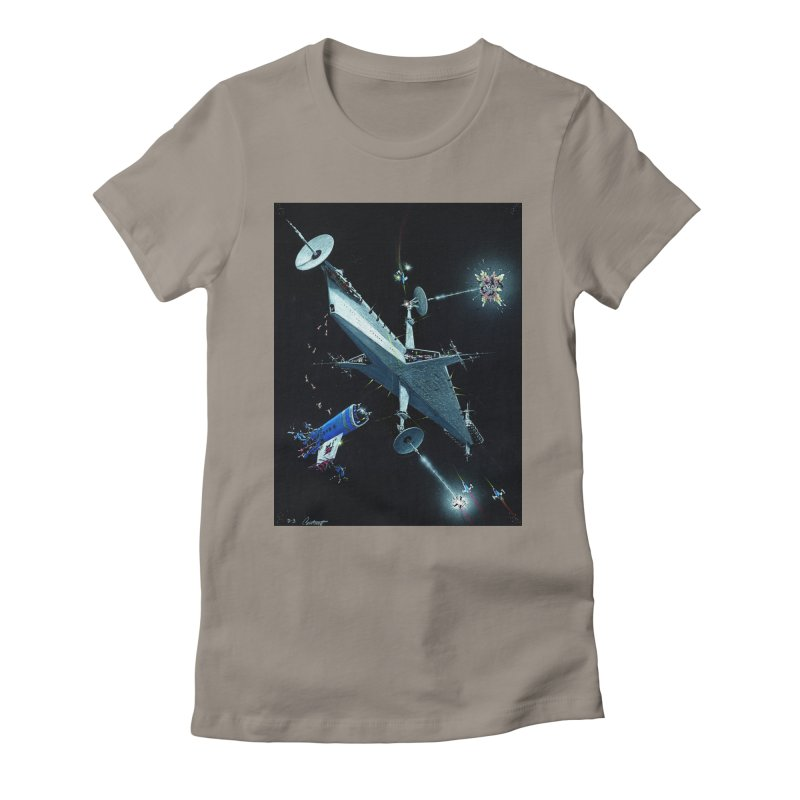 Concept 3 Women's Fitted T-Shirt by Colin Cantwell