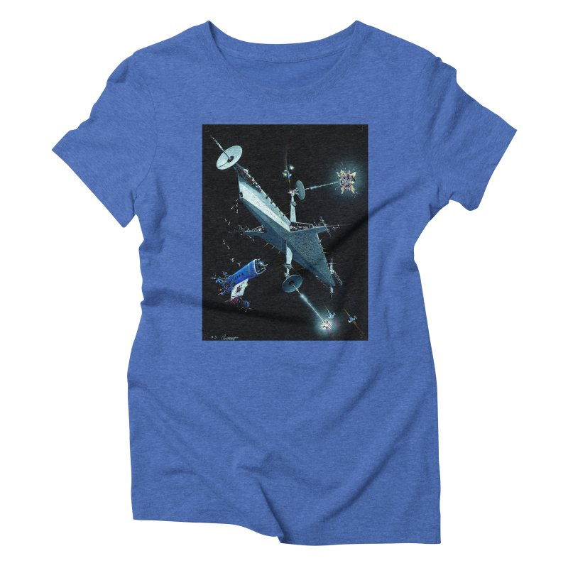 Concept 3 Women's Triblend T-Shirt by Colin Cantwell