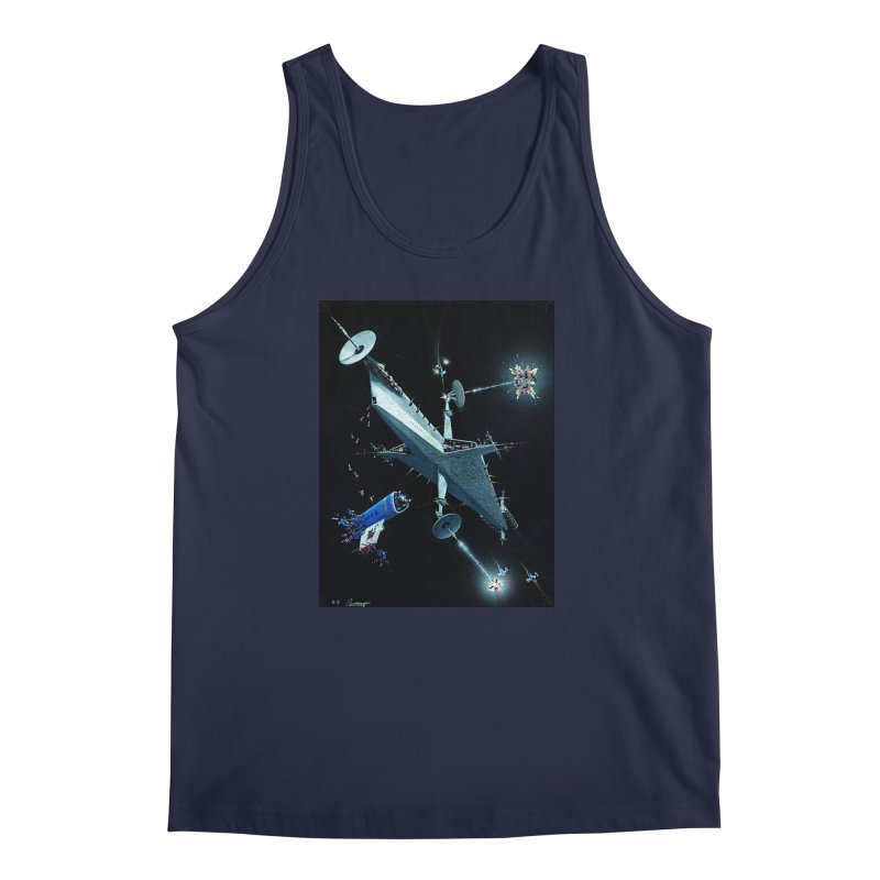 Concept 3 Men's Regular Tank by Colin Cantwell