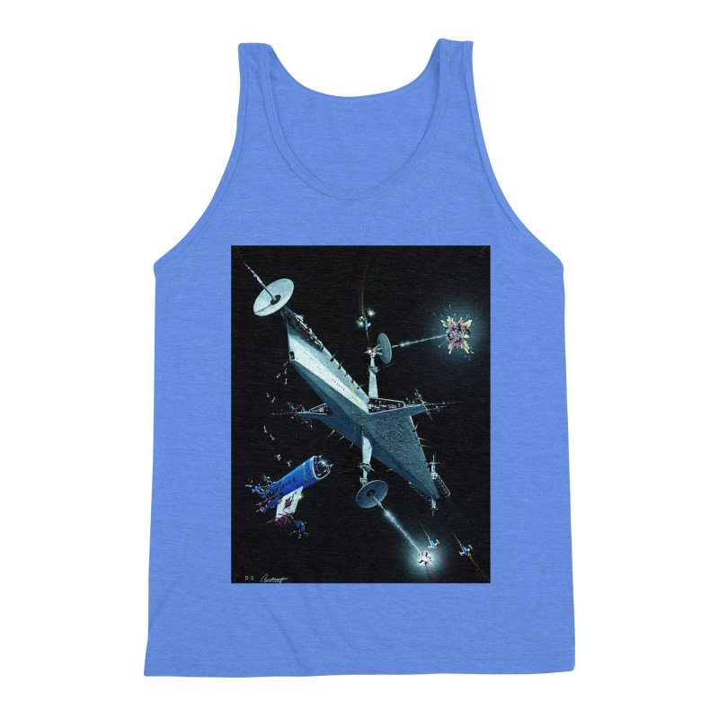 Concept 3 Men's Triblend Tank by Colin Cantwell