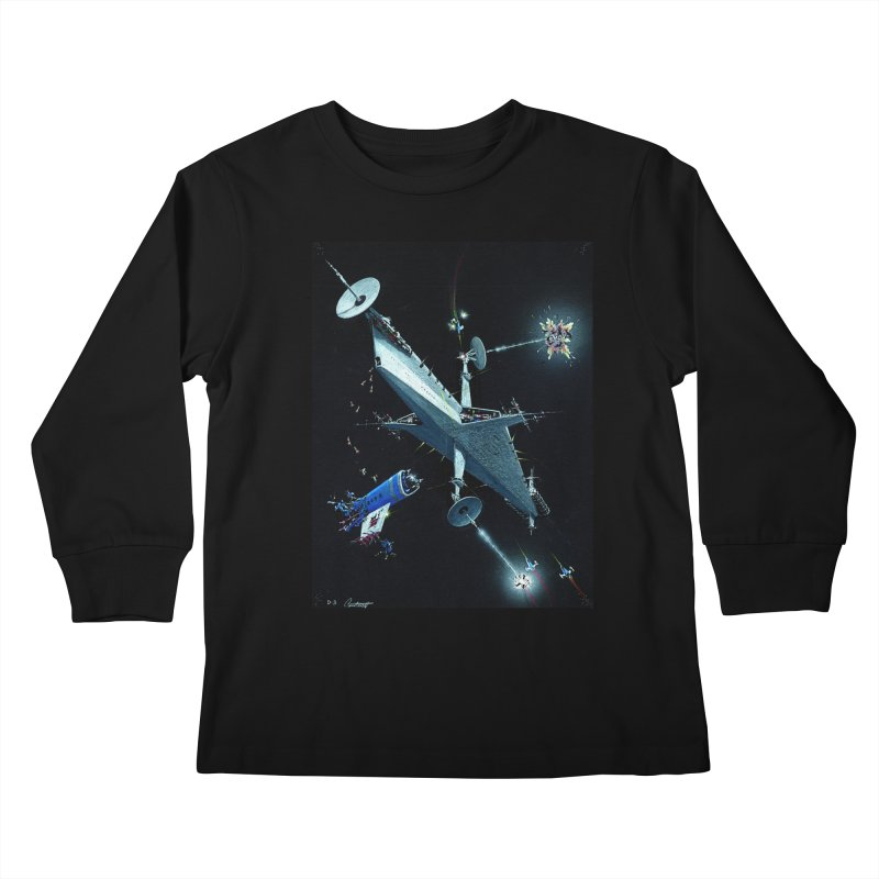 Concept 3 Kids Longsleeve T-Shirt by Colin Cantwell