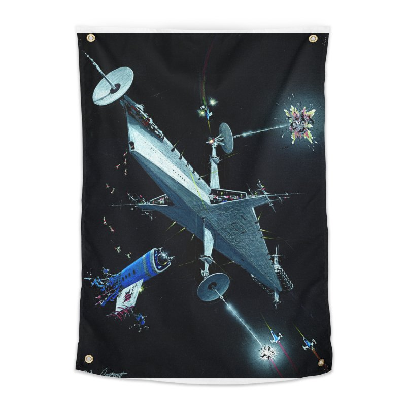 Concept 3 Home Tapestry by Colin Cantwell