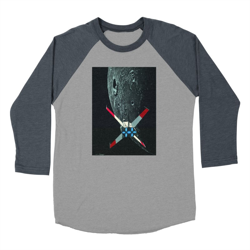 Concept 4 Men's Baseball Triblend Longsleeve T-Shirt by Colin Cantwell