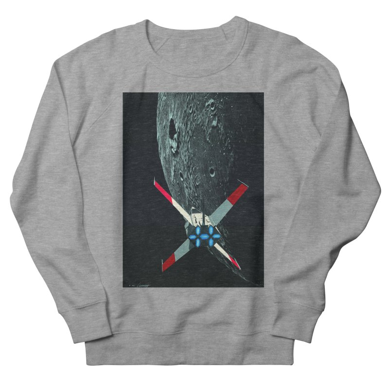 Concept 4 Men's French Terry Sweatshirt by Colin Cantwell
