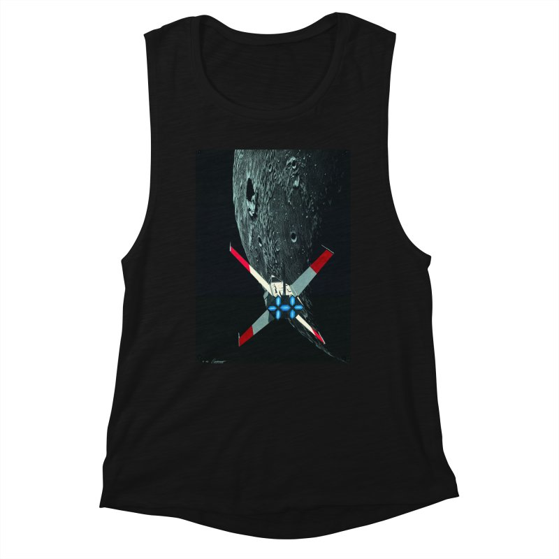 Concept 4 Women's Muscle Tank by Colin Cantwell