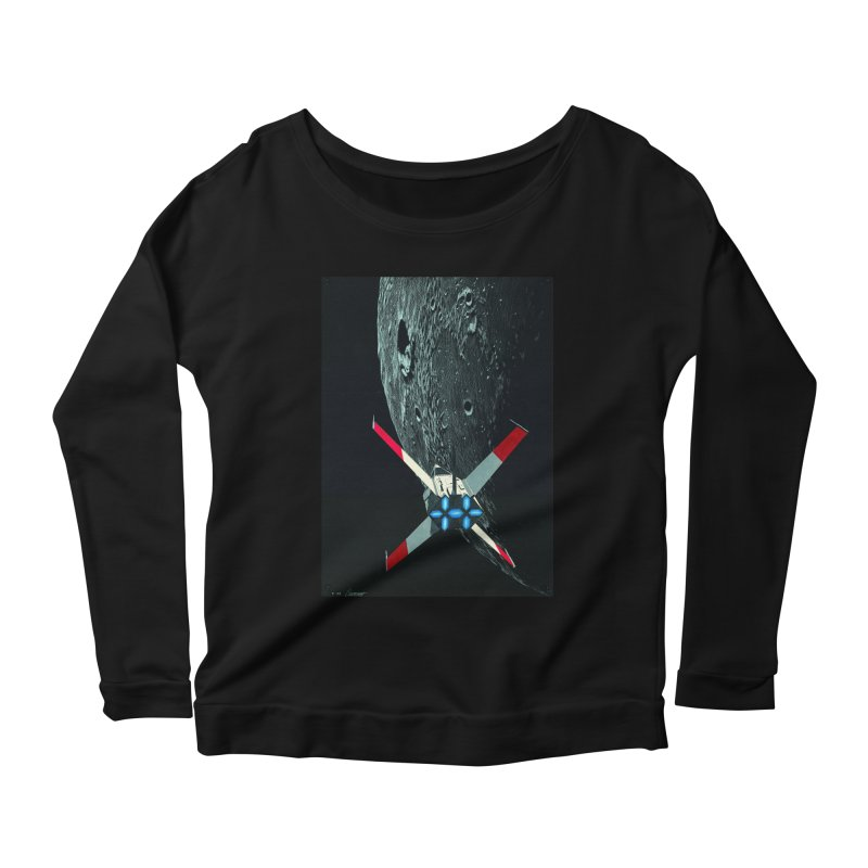 Concept 4 Women's Scoop Neck Longsleeve T-Shirt by Colin Cantwell