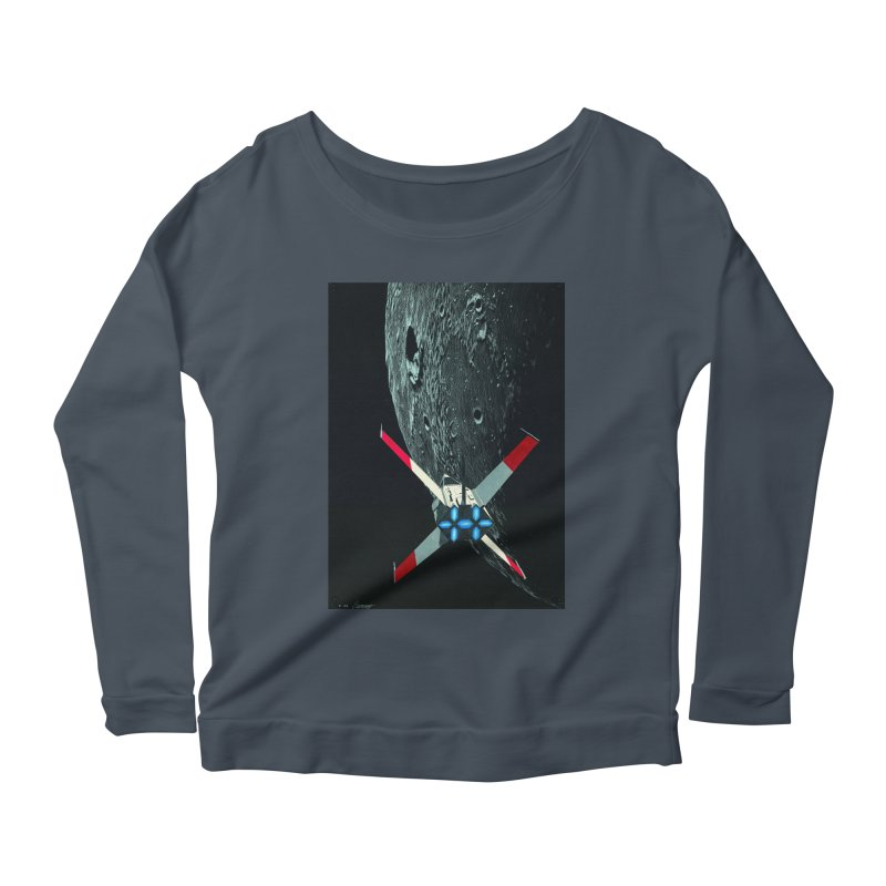Concept 4 Women's Longsleeve Scoopneck  by Colin Cantwell