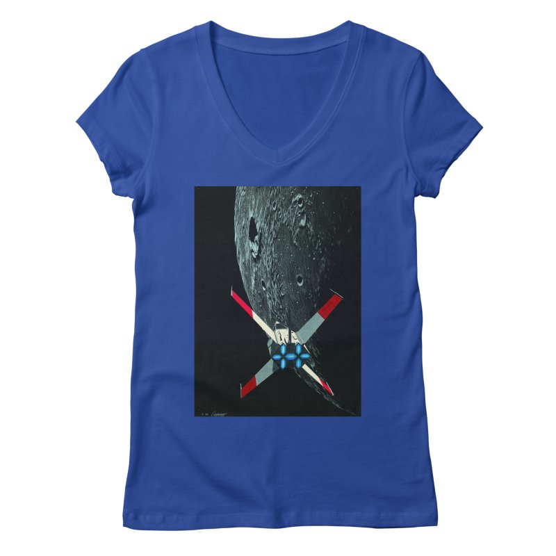 Concept 4 Women's V-Neck by Colin Cantwell