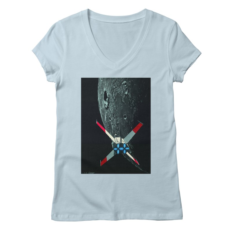 Concept 4 Women's Regular V-Neck by Colin Cantwell
