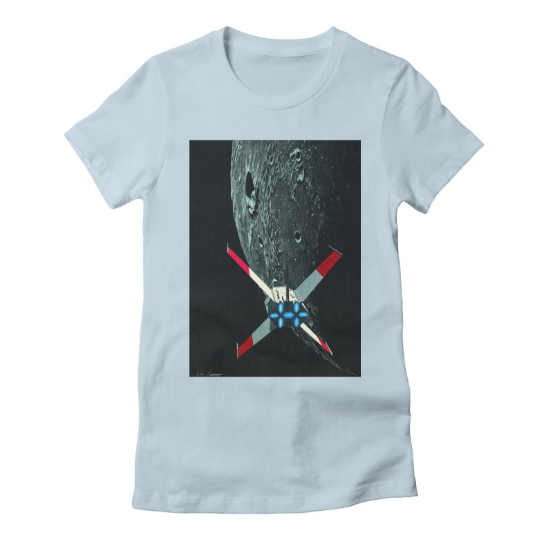 Concept 4 Women's Fitted T-Shirt by Colin Cantwell