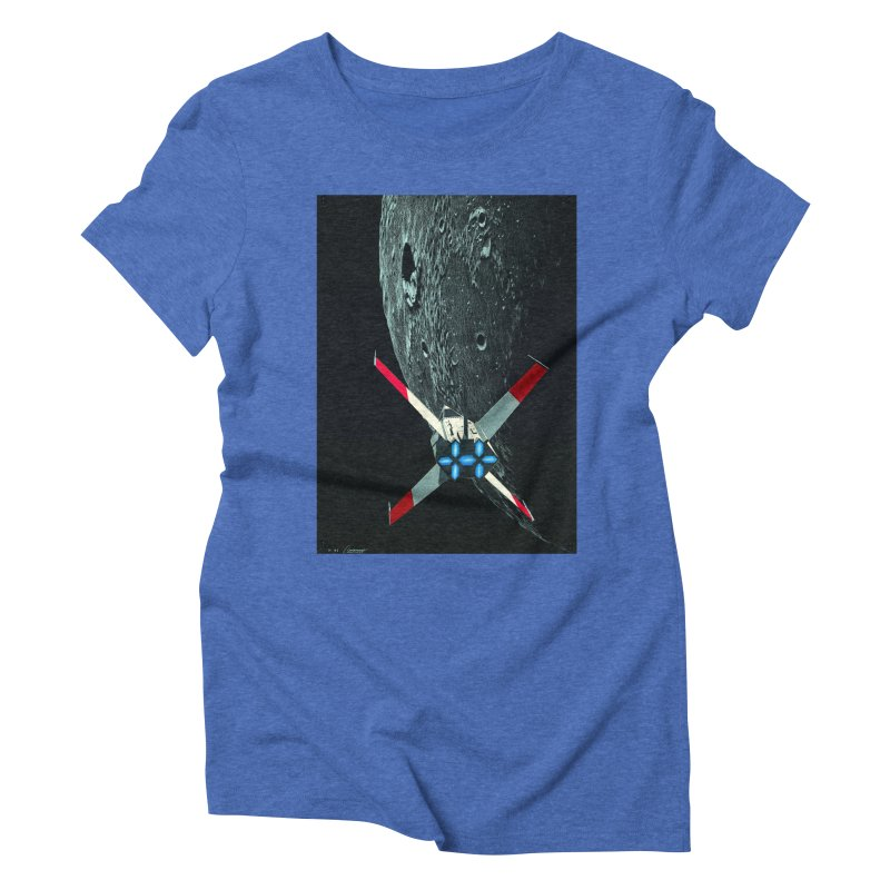 Concept 4 Women's Triblend T-Shirt by Colin Cantwell