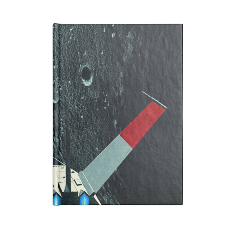 Concept 4 Accessories Lined Journal Notebook by Colin Cantwell