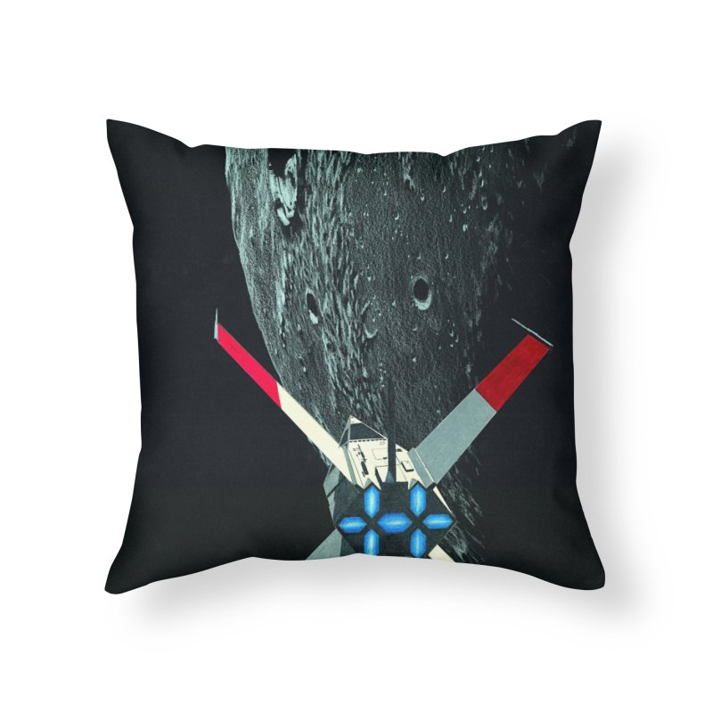 Concept 4 Home Throw Pillow by Colin Cantwell