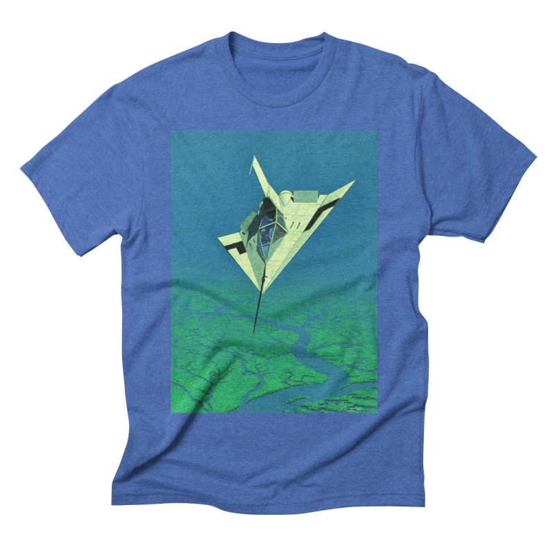 Concept 5 Men's Triblend T-Shirt by Colin Cantwell