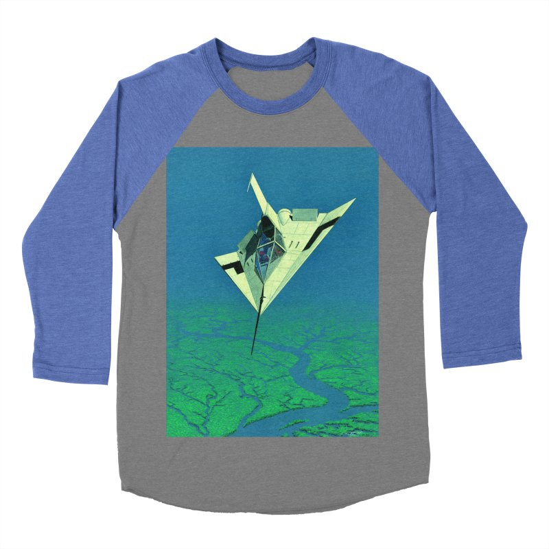 Concept 5 Men's Baseball Triblend Longsleeve T-Shirt by Colin Cantwell
