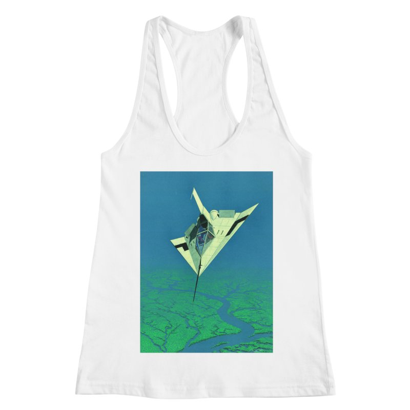 Concept 5 Women's Racerback Tank by Colin Cantwell