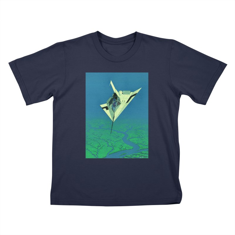 Concept 5 Kids T-Shirt by Colin Cantwell