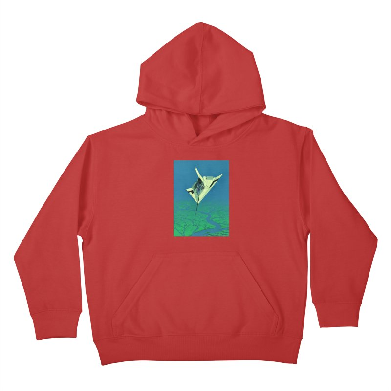 Concept 5 Kids Pullover Hoody by Colin Cantwell
