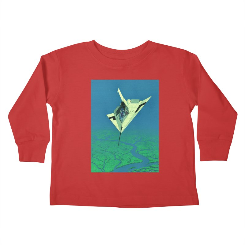 Concept 5 Kids Toddler Longsleeve T-Shirt by Colin Cantwell