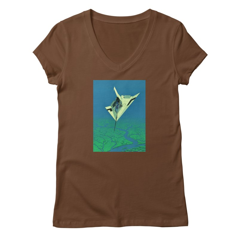 Concept 5 Women's V-Neck by Colin Cantwell