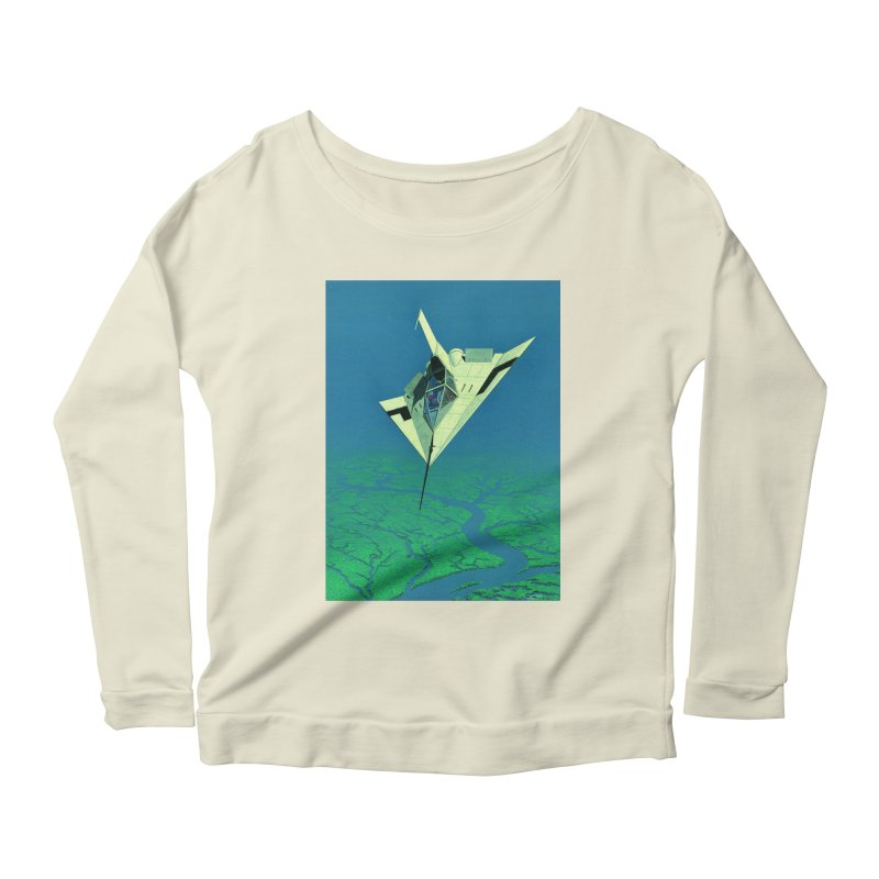 Concept 5 Women's Scoop Neck Longsleeve T-Shirt by Colin Cantwell