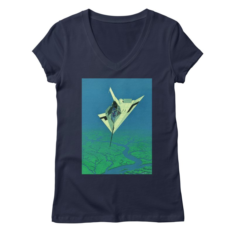Concept 5 Women's Regular V-Neck by Colin Cantwell