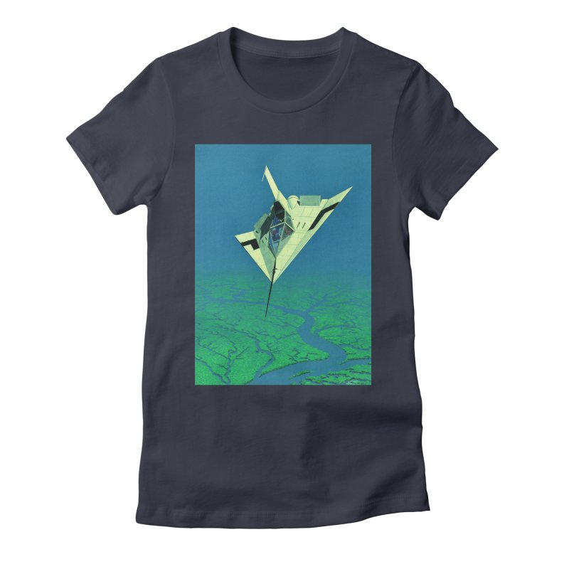 Concept 5 Women's Fitted T-Shirt by Colin Cantwell