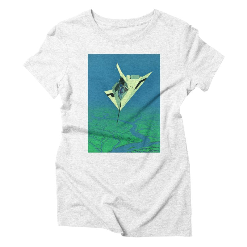 Concept 5 Women's Triblend T-shirt by Colin Cantwell