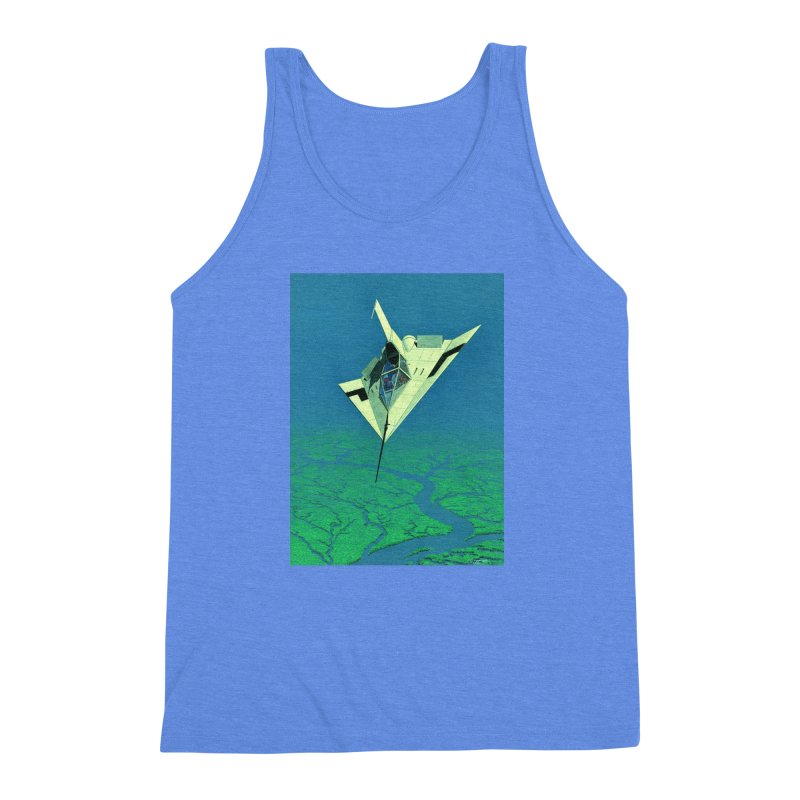 Concept 5 Men's Triblend Tank by Colin Cantwell