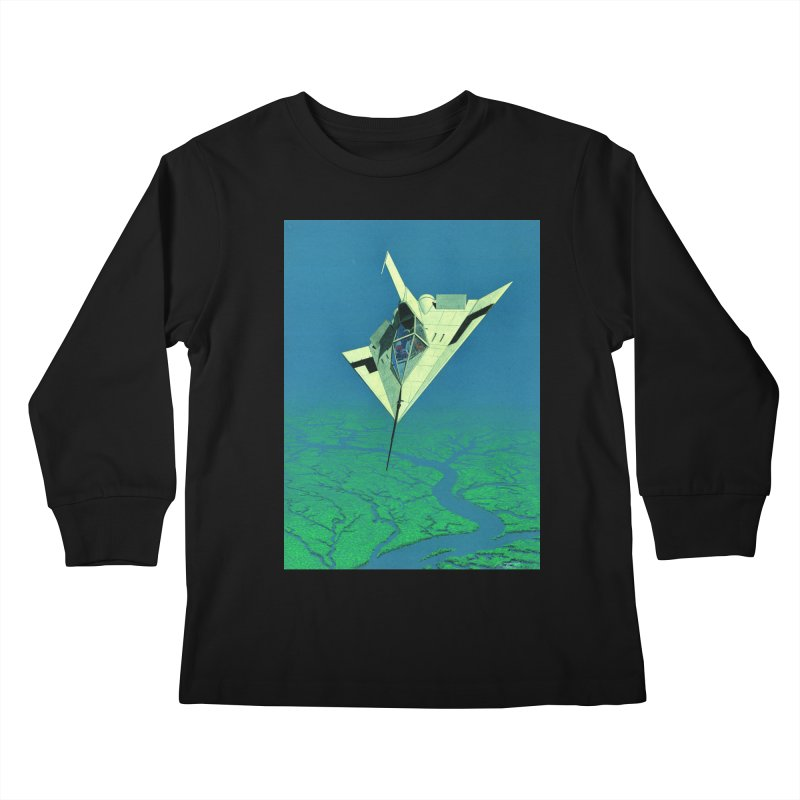 Concept 5 Kids Longsleeve T-Shirt by Colin Cantwell