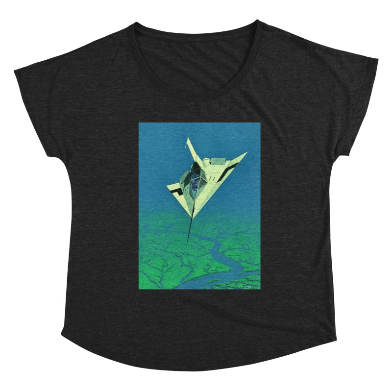 Concept 5 Women's Scoop Neck by Colin Cantwell