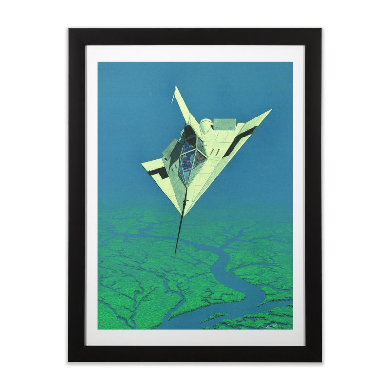 Concept 5 Home Framed Fine Art Print by Colin Cantwell