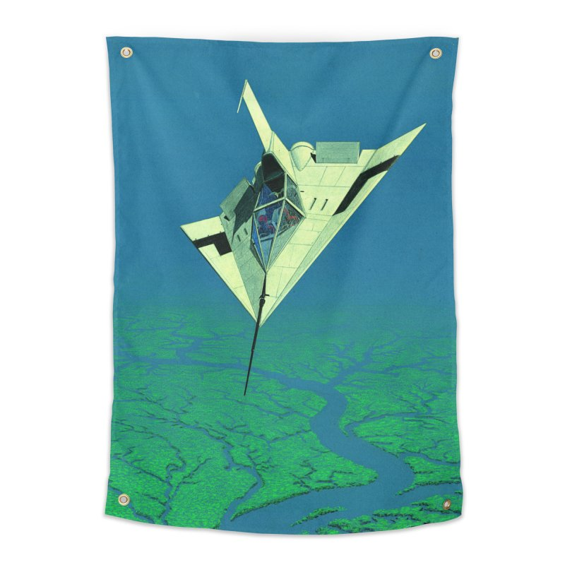 Concept 5 Home Tapestry by Colin Cantwell