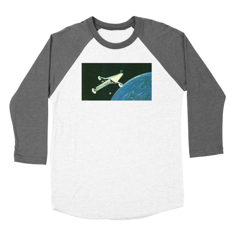 Concept 6 Women's Baseball Triblend Longsleeve T-Shirt by Colin Cantwell