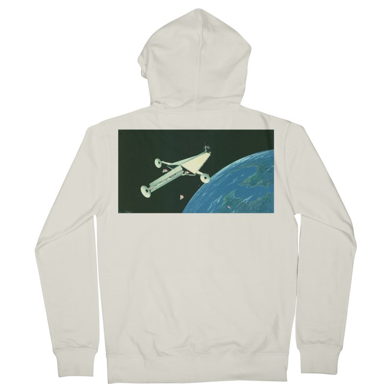 Concept 6 Men's French Terry Zip-Up Hoody by Colin Cantwell