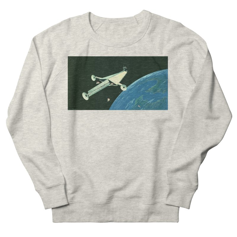 Concept 6 Women's French Terry Sweatshirt by Colin Cantwell