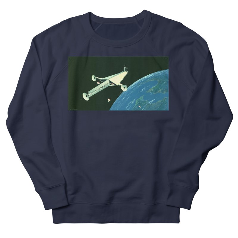 Concept 6 Men's French Terry Sweatshirt by Colin Cantwell
